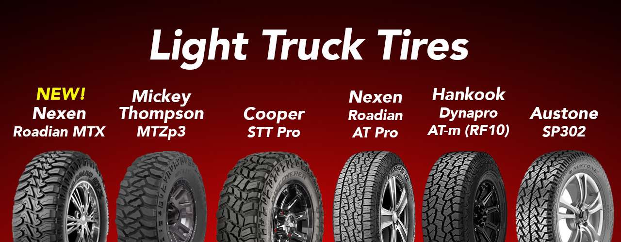 Light truck tires
