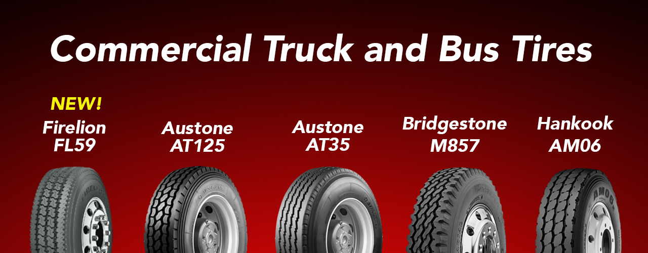 Commercial truck & bus tires