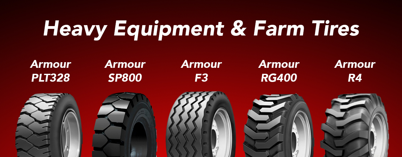 Heavy equipment & Farm Tires